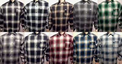 $28.99 • Buy CAL TOP Casual SHIRT LONG SLEEVE 100% Acrylic Button-Front Old School Flannel