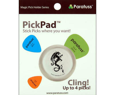 $ CDN8.93 • Buy Paratus Pickpad Guitar Pick Holder Dragon 3 Holds Up To 4 Picks Heavy Duty