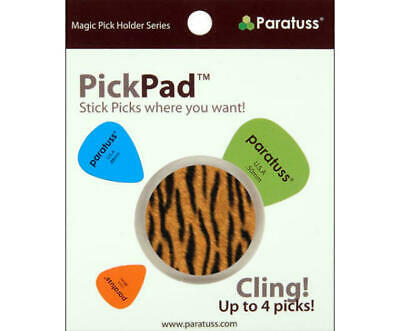 $ CDN8.51 • Buy Paratus Pickpad Guitar Pick Holder Tiger Holds Up To 4 Picks Heavy Duty