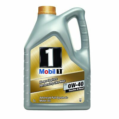 Mobil 1 FS 0W-40 Fully Synthetic Engine Oil - For Petrol Diesel Engines • 54.58£