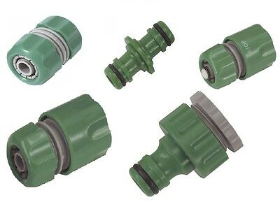 Garden Water Hose Pipe Connector Accessories Watering Gardening Adapter Free P&P • 2.99£