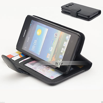 AU6.97 • Buy Slim Credit Wallet Leather Case Cover For Huawei Ascend G510 AU