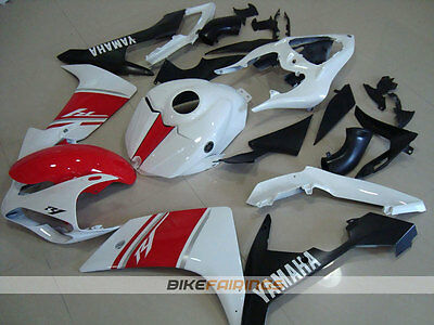 AU760 • Buy ABS Fairing Fit For YAMAHA R1 07 08 2007 2008 RED PEARL WHITE