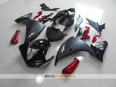 AU760 • Buy ABS Fairing Fit For YAMAHA R1 2009 2010 2011 MATTE BLACK RED