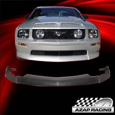 $149.88 • Buy 2005-09 CV Type 2 PU Front Bumper Lip Black Fits Ford Mustang V8