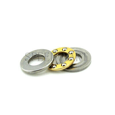 AU2.22 • Buy Axial Thrust Ball Bearings 8mm X 16mm X 5mm F8-16M Stainless Steel