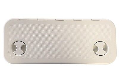 £51.50 • Buy Nuova Rade Hinged Boat Access / Inspection Deck Hatch (600mm X 250mm) White