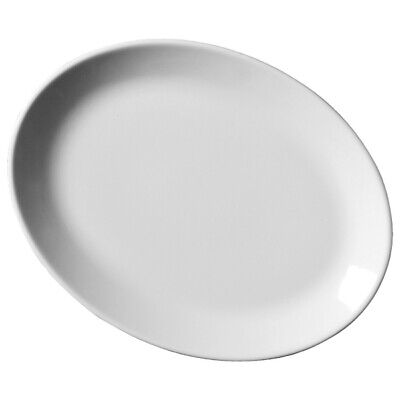 Royal Genware Oval Plates 24cm X 6 | 9.25inch Plates • 28.93£