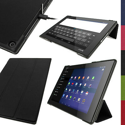 £9.59 • Buy PU Leather Smart Case For Sony Xperia Z2 10.1  SGP511 Tablet Stand Flip Cover