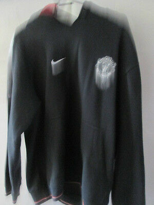 Manchester United 2002 Training Hoodie Jumper Football Size Small /11867 • 29.99£