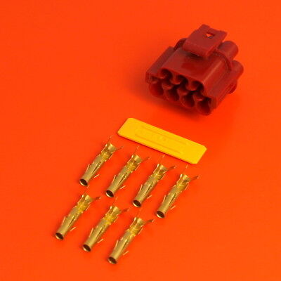 £7.50 • Buy Lucas Rists 7 Way Red Receptacle TTS Series Electrical Wiring Connector Kit