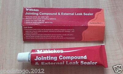 Wickes Jointing Compound External Leak Sealer Joint Sealing Pipe Leak Sealant • 5.89£