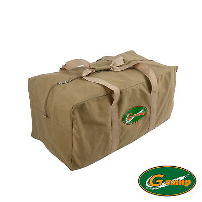 AU45.90 • Buy G Camp Canvas Bag Carry Travel Tent Peg Guy Rope Camping Trailer 4wd Stove Free