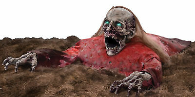 $ CDN92.25 • Buy Crawling Cathy Animated Halloween Prop Clawing Haunted House Animatronic Grave