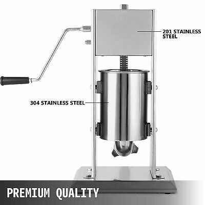 AU199 • Buy Heavy Duty SS Sausage Stuffer Filler 3L Salami Maker OR Silicon Seal Replacement