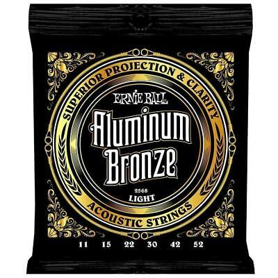 $ CDN24 • Buy Ernie Ball 2568  Aluminum Bronze Light Gauge Acoustic Guitar Strings 11 - 52