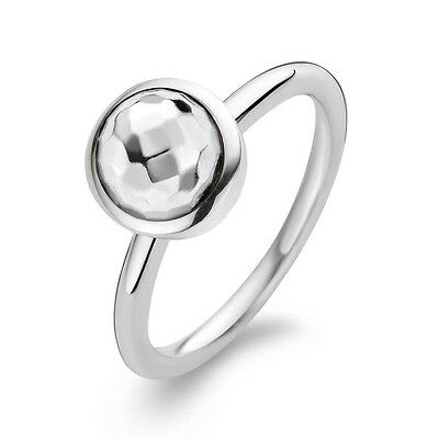 £50 • Buy Ti Sento Sterling Silver Faceted Cabochon Ring
