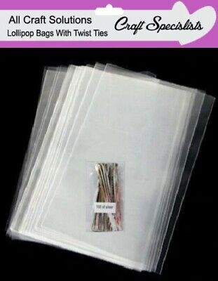 £3.64 • Buy  Quality 4  X 6  Clear Cellophane Lollipop Bags / Display Bags/cookies/sweets