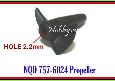 $ CDN7.97 • Buy Propeller For NQD 757-6024 RC Turbo JET Boat Spare Part Replacement 6024 2pcs