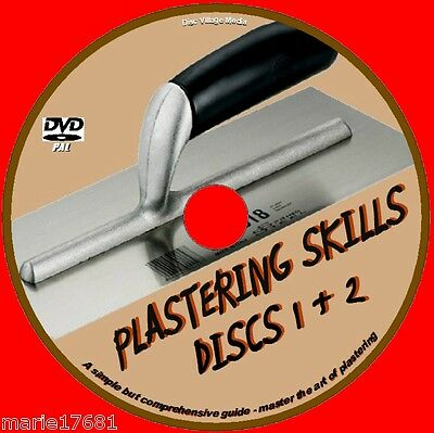 £4.49 • Buy Learn How To Plaster Tuition Course Ideal Training For Diy & Trade Video Dvd New