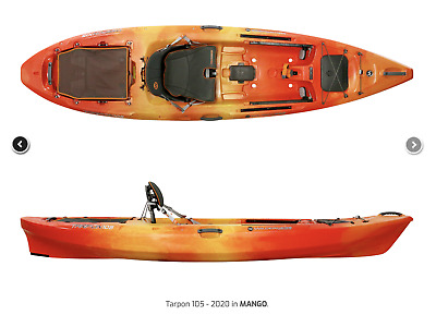 AU1199 • Buy Wilderness Systems Tarpon 100 Kayak, BEST Sit On Top Single Great For Fishing