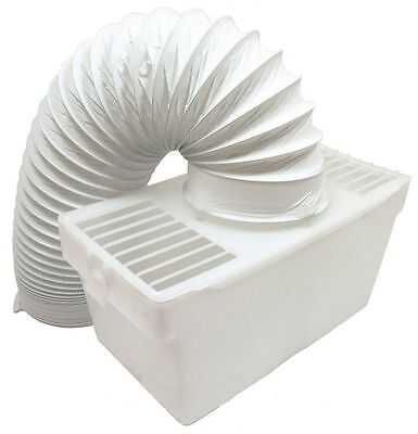 £8.25 • Buy Universal White Knight Beko Tumble Dryer Indoor Condenser Vent Kit Box With Hose