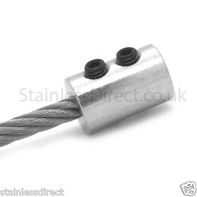 £4.99 • Buy  Zinc Plated Wire Rope End Stop To Suit 4mm 5mm Or 6mm Wire Rope