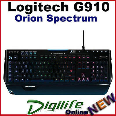 AU318 • Buy Logitech G910 Orion Spectrum RGB Mechanical Gaming Keyboard Multicolor Backlit