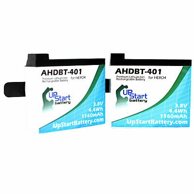 $ CDN14.99 • Buy 2x Pack - GoPro Hero4 Silver Battery Replacement
