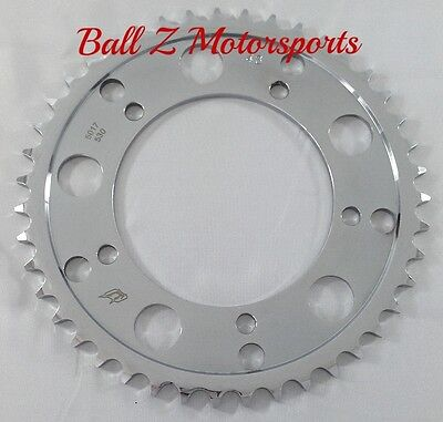 $79.99 • Buy 2008-2020 Hayabusa Chrome Steel 43 Th Tooth Rear Sprocket 2001-2008 GSXR 1000