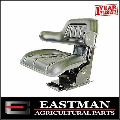 AU139.50 • Buy Universal Black Suspension Seat - Massey Ferguson - Ford - Tractor