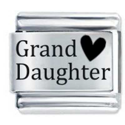 Daisy Charm - Grand Daughter Granddaughter *  Fits Italian Charm Bracelets • 3.65£