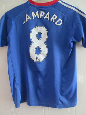 Chelsea 2010-2011 Home Football Shirt Size Large Boys Lampard Jersey /35312 • 9.99£