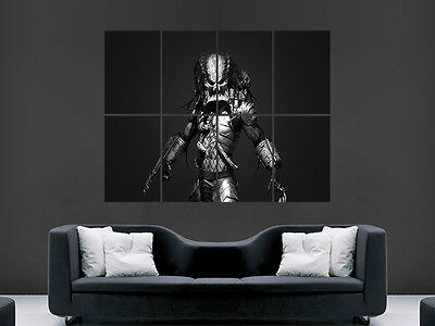£17.99 • Buy Predator Action Film  Giant Wall Poster Art Picture Print Large