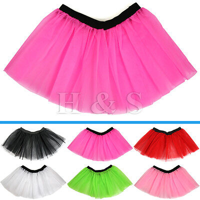 High Quality Tutu Skirt Ladies Women Adults Hen Party 80s Fancy Dress Costume • 4.99£