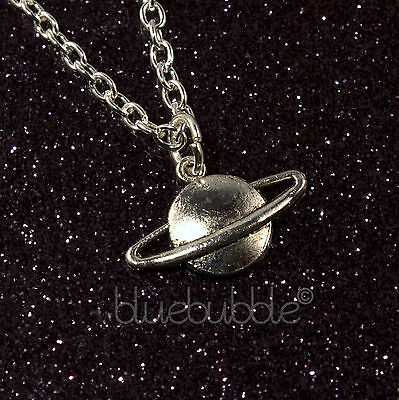 £2.99 • Buy Funky Space Planet Necklace Cool Galaxy Fun Astronomy Gift Novelty Alien Ufo Emo