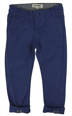Ben Sherman Boys Twisted Chinos - Washed Blue • 14.99£