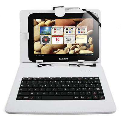 FRENCH AZERTY White Case W/ Keyboard For Samsung Galaxy Note 10.1 / Tab Pro 10.1 • 15.49£