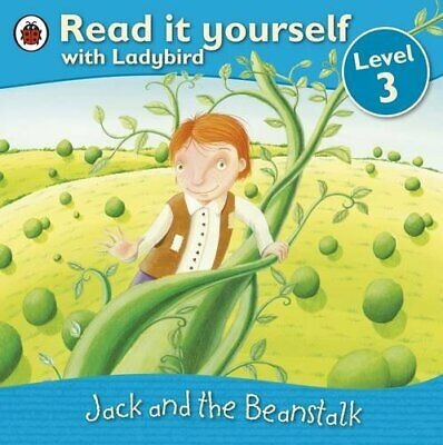 Jack And The Beanstalk - Read It Yourself With Ladybird: Level 3 Paperback Book • 3.99£