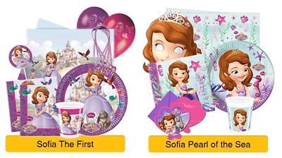 £3.79 • Buy DISNEY Princess SOFIA THE FIRST Birthday Party Ranges - Tableware Decorations