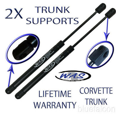 2 Rear Trunk Lid Lift Supports Shock Rod Arm 98-13,Convertible, 99-04 Coupe,Z06 • 17.97$