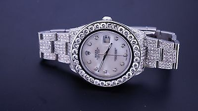 $ CDN22001.09 • Buy 23 Carat Diamonds New Rolex DateJust II 2 Iced Out Box, Paper & Appraisal ASAAR
