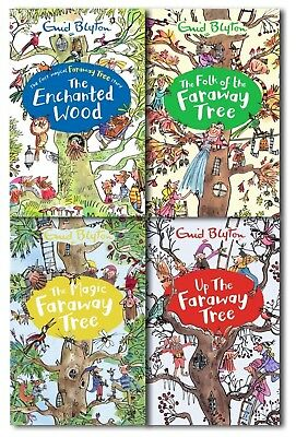 £15.78 • Buy Enid Blyton's The Magic Faraway Tree Collection 4 Books Set Pack Enchanted Wood