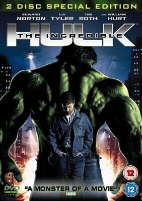 The Incredible Hulk (2 Disc Edition) [DVD] - DVD  JUVG The Cheap Fast Free Post • 3.49£