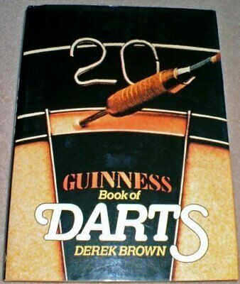 £10.99 • Buy Guinness Book Of Darts By Brown, Derek Hardback Book The Cheap Fast Free Post