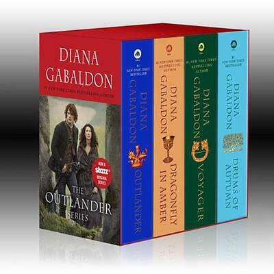 AU71.88 • Buy The Outlander Boxed Set: Outlander, Dragonfly In Amber, Voyager, Drums Of Autumn