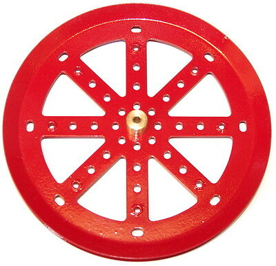Meccano Part 19c 6  Pulley With Boss Red • 30.50£