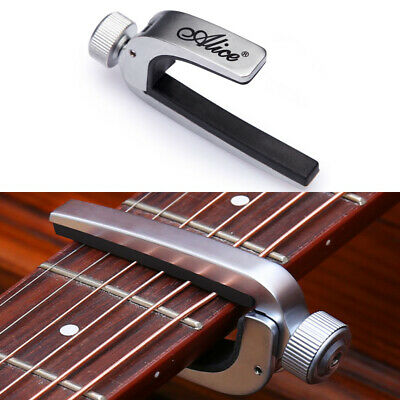 $ CDN10.70 • Buy Adjustable Quick Change Guitar Capo Tune Clamp Key For Acoustic Electric Guitar