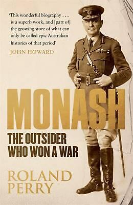 AU31.74 • Buy Monash: The Outsider Who Won A War By Roland Perry (English) Paperback Book Free