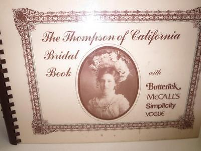 $36.95 • Buy 1970's Bridal Party Pattern Book W/Swatches Butterick Vogue McCalls Simplicity